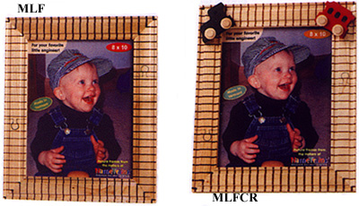 Train Track Photo Frames