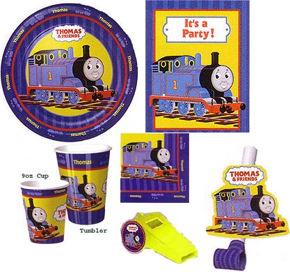 Thomas Full Steam Ahead Party Ware